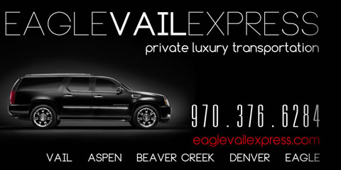 Save 20% by booking through Eagle Vail Express